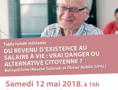 Table ronde militante avec Bernard Friot